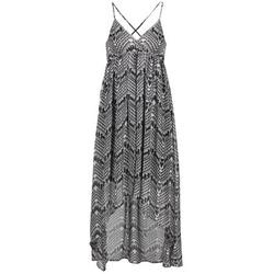 Vêtements Femme Robes longues Le Temps des Cerises LUNE Noir / Blanc