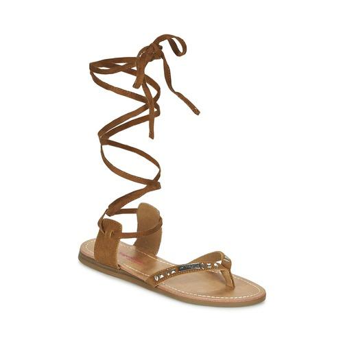 Chaussures Femme Sandales et Nu-pieds Les Tropéziennes par M Belarbi GALTANO Camel