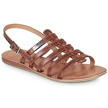 Chaussures Femme Sandales et Nu-pieds Les Tropéziennes par M Belarbi HAVAPO Tan