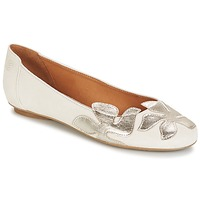 Chaussures Femme Ballerines / babies Betty London ERUNE Blanc / Argent