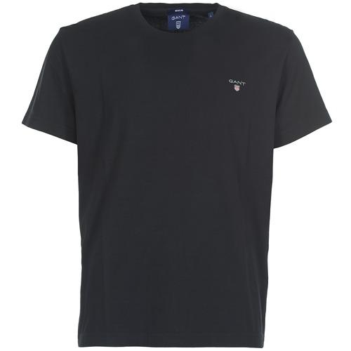 Vêtements Homme T-shirts manches courtes Gant THE ORIGINAL SS TEE Noir