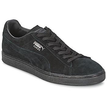 Chaussures Homme Baskets basses Puma SUEDE CLASSIC Noir / Gris