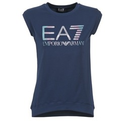 Vêtements Femme T-shirts manches courtes Emporio Armani EA7 ANDROUL Marine