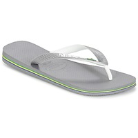 Chaussures Tongs Havaianas BRASIL MIX Gris