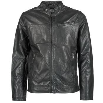 Vêtements Homme Vestes en cuir / synthétiques Celio DUBIKER Noir