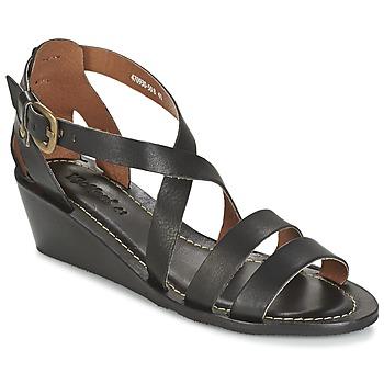 Chaussures Femme Sandales et Nu-pieds Kickers FANTASIA Noir