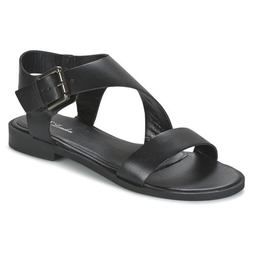 Chaussures Femme Sandales et Nu-pieds Betty London EMALIA Noir