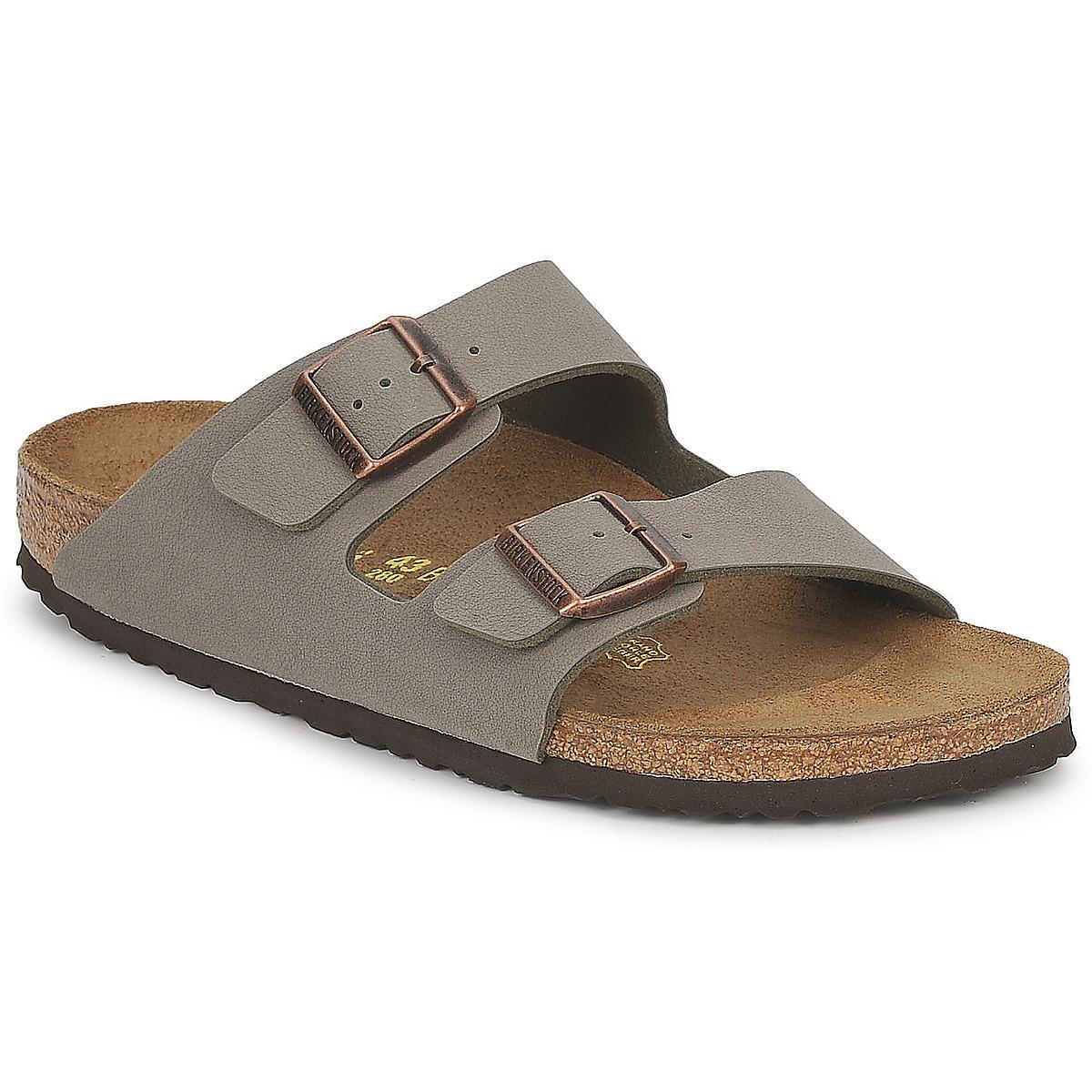 birkenstock arizona marron chaussure pas cher avec chaussures mules 74 99. Black Bedroom Furniture Sets. Home Design Ideas