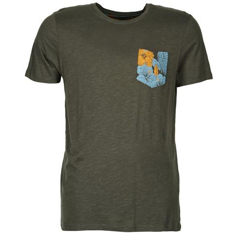 Vêtements Homme T-shirts manches courtes Jack & Jones TROPICAL ORIGINALS Noir