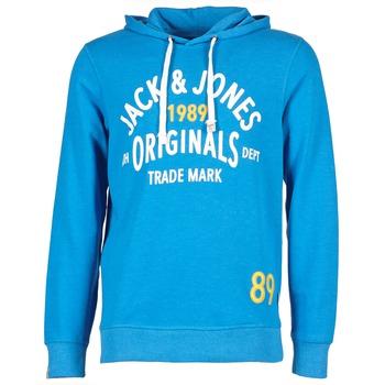Jack & Jones ATHLETIC SWEAT ORIGINALS Bleu