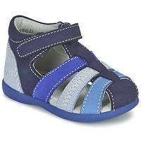 Chaussures Garçon Sandales et Nu-pieds Kickers BABYSUN Marine Bleu