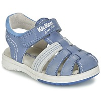 Chaussures Garçon Sandales et Nu-pieds Kickers PLATINIUM Bleu