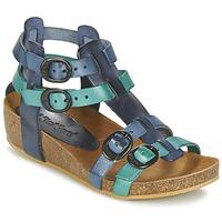 Chaussures Air max tnFille Sandales et Nu-pieds Kickers BOMDIA Bleu