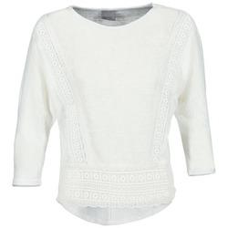 Vêtements Femme T-shirts manches longues Vero Moda MYBELLA Blanc
