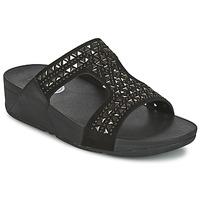 Chaussures Femme Mules FitFlop CARMEL SLIDE Noir