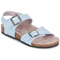 Chaussures Air max tnFille Sandales et Nu-pieds Les P'tites Bombes J ROSE Bleu
