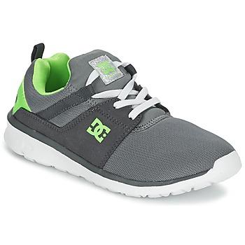 DC Shoes HEATHROW Gris / Blanc / Vert