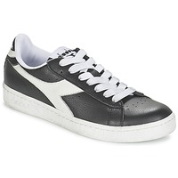 Chaussures Air max tnBaskets basses Diadora GAME L LOW Noir / Blanc