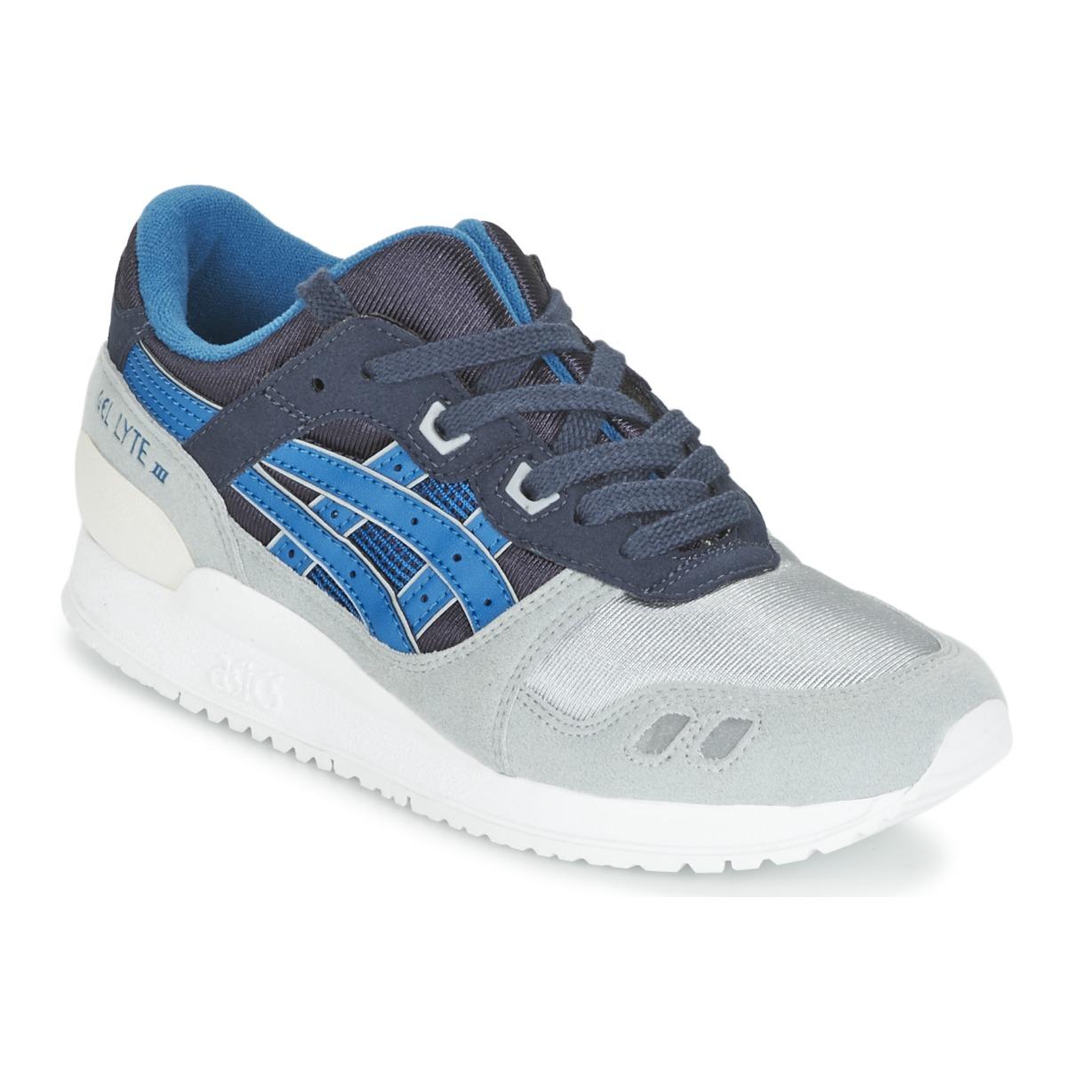 asics gel lyte iii gs bleu chaussure pas cher avec chaussures baskets basses. Black Bedroom Furniture Sets. Home Design Ideas