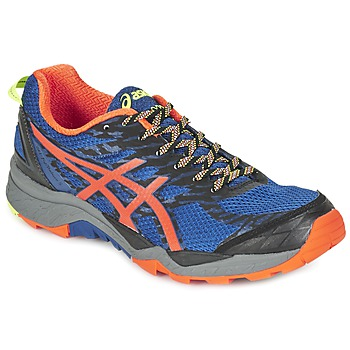 Chaussures-de-running Asics GEL-FujiTrabuco 5 Bleu