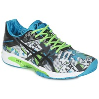 Chaussures Air max tnHomme Tennis Asics GEL-SOLUTION SPEED 3 L.E. NYC Blanc / Noir / bleu