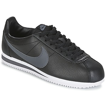 Chaussures Air max tnHomme Baskets basses Nike CLASSIC CORTEZ LEATHER Noir / Gris
