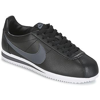 Nike CLASSIC CORTEZ LEATHER Noir / Gris