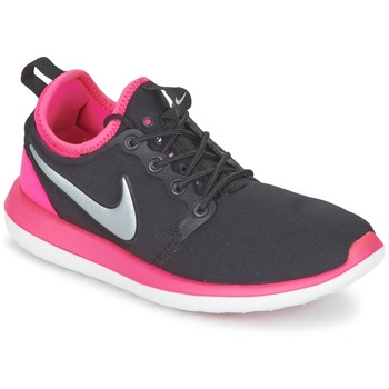 Chaussures Fille Baskets basses Nike ROSHE TWO JUNIOR Noir / Rose
