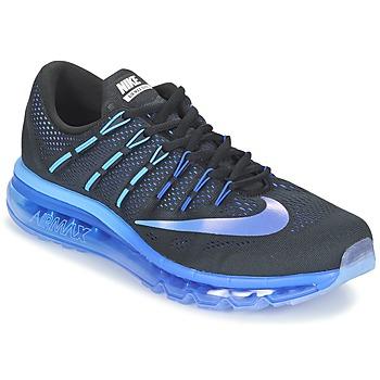 Chaussures-de-running Nike AIR MAX 2016 Noir / Bleu