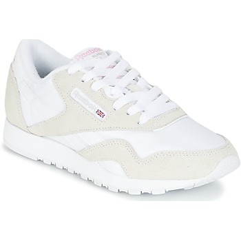Chaussures Femme Baskets basses Reebok Classic CLASSIC NYLON Beige / Blanc