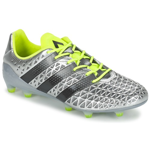 Chaussures Homme Football adidas Performance ACE 16.1 FG Argent