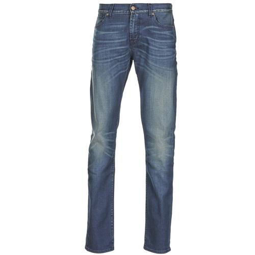 Vêtements Homme Jeans slim 7 for all Mankind RONNIE ELECTRIC MIND Bleu Medium