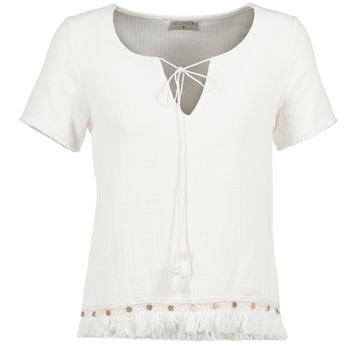 Vêtements Femme Tops / Blouses Betty London ECHRALE Ecru