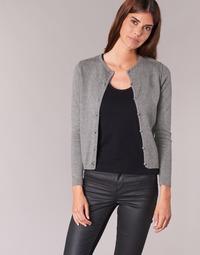 Vêtements Femme Gilets / Cardigans BOTD EVANITOA Gris