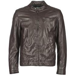 Vêtements Homme Vestes en cuir / synthétiques Benetton HOULO Marron