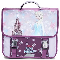 Sacs Fille Cartables Disney REINE DES NEIGES CARTABLE 38CM Mauve
