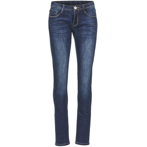 Vêtements Femme Jeans slim Yurban ETOULETTE SLIM Bleu medium