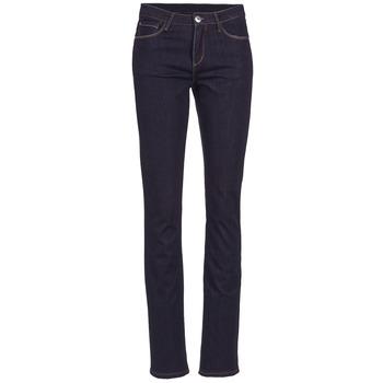 Vêtements Femme Jeans droit Yurban ESQUANE DROIT Bleu foncé