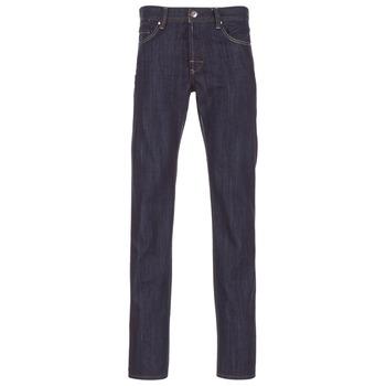 Vêtements Homme Jeans droit Yurban EDABALO DROIT Bleu brut