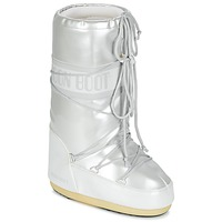 Chaussures Femme Bottes de neige Moon Boot MOON BOOT VYNIL MET Blanc