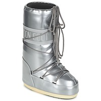 Chaussures Air max tnFemme Bottes de neige Moon Boot MOON BOOT VYNIL MET Argent