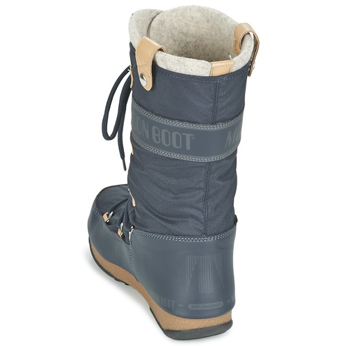Moon Boot MOON BOOT WE MONACO FELT Bleu