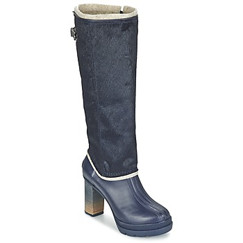 Chaussures Femme Bottes ville Sorel MEDINA IV PREMIUM Collegiate Navy black