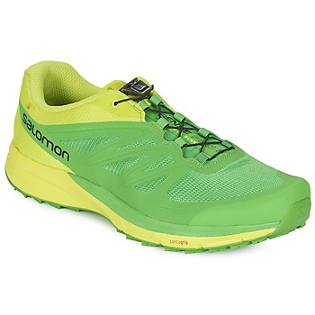 Chaussures-de-running Salomon SENSE PRO 2 Vert / Noir