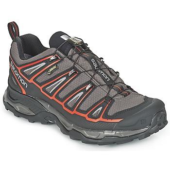 Chaussures-de-randonnee Salomon X ULTRA 2 GTX® Gris / Noir / Rouge