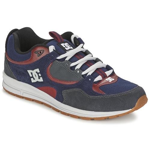 Chaussures Homme Chaussures de Skate DC Shoes KALIS LITE Marine / Gris