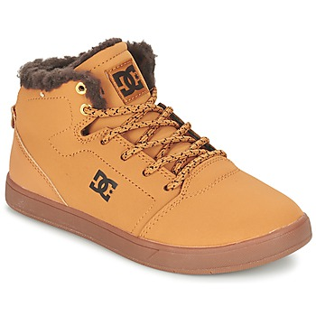 Chaussures Enfant Baskets montantes DC Shoes CRISIS HIGH WNT B SHOE WD4 Blé / Chocolat