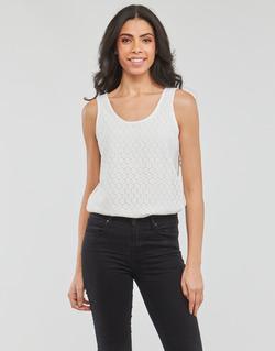 Vêtements Femme Débardeurs / T-shirts sans manche Moony Mood GUOHIAVINE Blanc