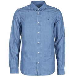 Vêtements Homme Chemises manches longues Calvin Klein Jeans WINLEY Bleu