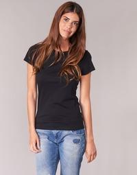 Vêtements Femme T-shirts manches courtes BOTD EQUATILA Noir